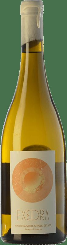 10,95 € Free Shipping | White wine Puiggròs Exedra Blanc D.O. Catalunya Catalonia Spain Grenache White Bottle 75 cl