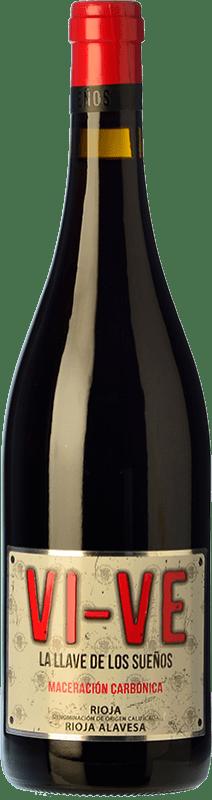8,95 € Free Shipping   Red wine Valdelana Vi-Ve Maceración Carbónica Joven D.O.Ca. Rioja The Rioja Spain Tempranillo, Viura Bottle 75 cl