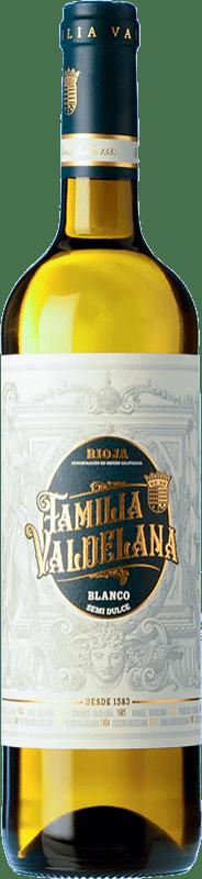 8,95 € Free Shipping   White wine Valdelana Blanco Semidulce D.O.Ca. Rioja The Rioja Spain Viura, Malvasía Bottle 75 cl