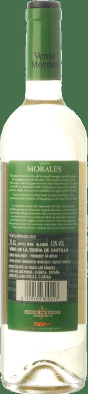 4,95 € Free Shipping   White wine Volver Venta Morales I.G.P. Vino de la Tierra de Castilla Castilla la Mancha Spain Macabeo Bottle 75 cl