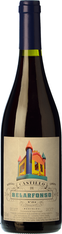 11,95 € Free Shipping | Red wine Canopy Castillo de Belarfonso Roble D.O. Méntrida Spain Grenache Bottle 75 cl
