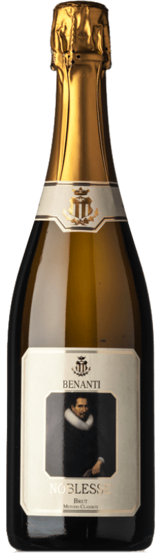 22,95 € Free Shipping   White sparkling Benanti Metodo Classico Noblesse Brut D.O.C. Sicilia Sicily Italy Carricante, Bacca White Bottle 75 cl
