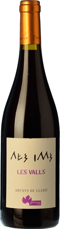 14,95 € Free Shipping | Red wine Ficaria Les Valls Tinto Roble Spain Grenache Bottle 75 cl
