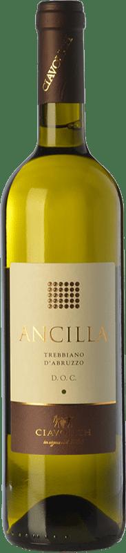 8,95 € Free Shipping | White wine Ciavolich Ancilla D.O.C. Trebbiano d'Abruzzo Abruzzo Italy Trebbiano d'Abruzzo Bottle 75 cl