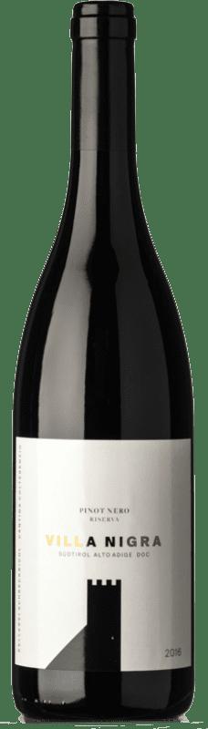 29,95 € Free Shipping | Red wine Colterenzio Villa Nigra D.O.C. Alto Adige Trentino-Alto Adige Italy Pinot Black Bottle 75 cl