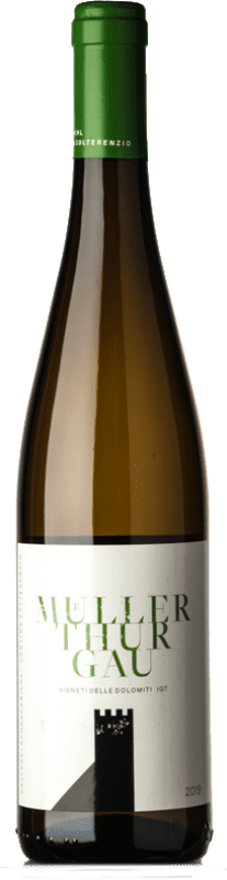 9,95 € Free Shipping | White wine Colterenzio I.G.T. Vigneti delle Dolomiti Trentino-Alto Adige Italy Müller-Thurgau Bottle 75 cl