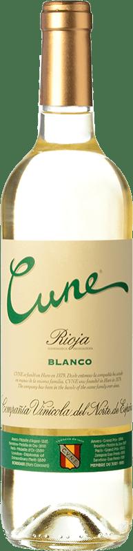 5,95 € Free Shipping   White wine Norte de España - CVNE Cune Blanco D.O.Ca. Rioja The Rioja Spain Viura Bottle 75 cl