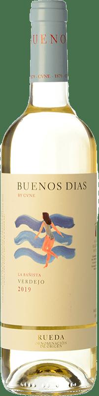 6,95 € Free Shipping   White wine Norte de España - CVNE Buenos días by CVNE D.O. Rueda Castilla y León Spain Verdejo Bottle 75 cl