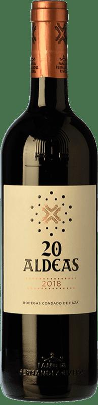 17,95 € Free Shipping   Red wine Condado de Haza 20 Aldeas Crianza I.G.P. Vino de la Tierra de Castilla y León Castilla y León Spain Tempranillo Bottle 75 cl