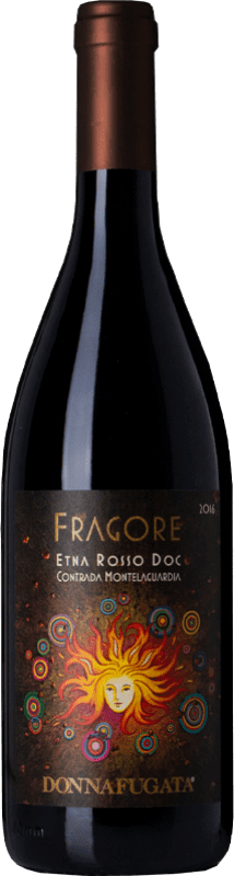 57,95 € Free Shipping | Red wine Donnafugata Rosso Montelaguardia Fragore D.O.C. Etna Sicily Italy Nerello Mascalese Bottle 75 cl