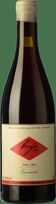 21,95 € Free Shipping | Red wine Envínate Benje Tinto Roble D.O. Ycoden-Daute-Isora Canary Islands Spain Listán Black, Listán Gaucho, Vijariego Black, Negramoll Bottle 75 cl