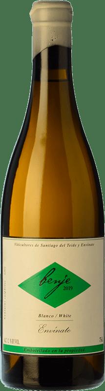 21,95 € Free Shipping | White wine Envínate Benje Blanco Crianza D.O. Ycoden-Daute-Isora Canary Islands Spain Listán White Bottle 75 cl