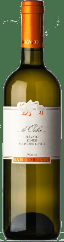 18,95 € Free Shipping | White wine San Lorenzo Le Oche D.O.C. Verdicchio dei Castelli di Jesi Marche Italy Verdicchio Bottle 75 cl