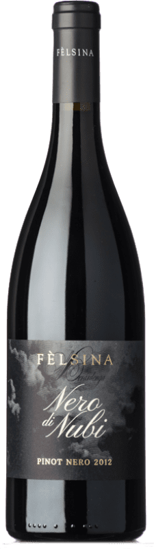 28,95 € Free Shipping | Red wine Fèlsina Nero di Nubi I.G.T. Toscana Tuscany Italy Pinot Black Bottle 75 cl