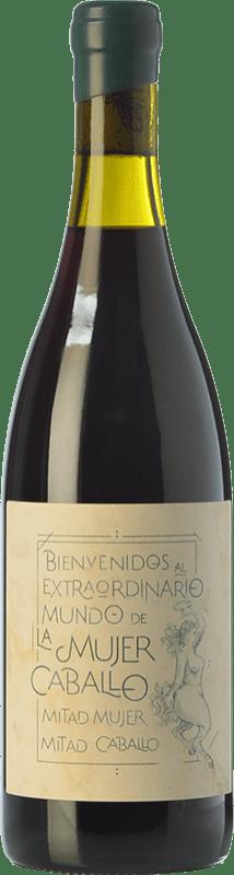 29,95 € Free Shipping   Red wine Fil'Oxera La Mujer Caballo Verde Roble D.O. Valencia Valencian Community Spain Bottle 75 cl
