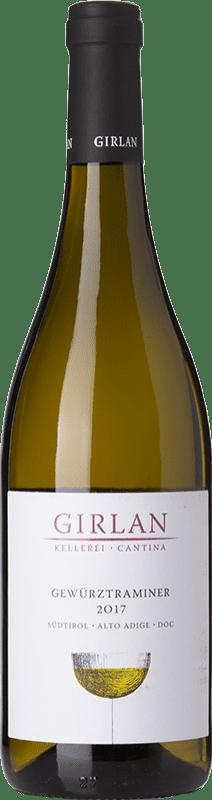 14,95 € Free Shipping | White wine Girlan D.O.C. Alto Adige Trentino-Alto Adige Italy Gewürztraminer Bottle 75 cl