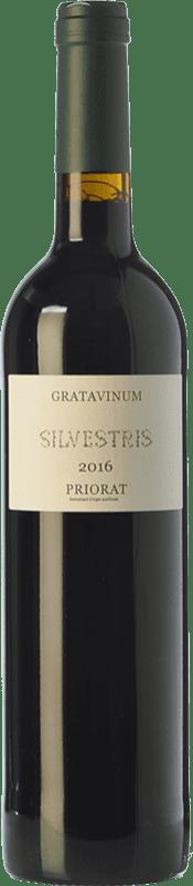 22,95 € Free Shipping | Red wine Gratavinum Silvestris Roble D.O.Ca. Priorat Catalonia Spain Grenache, Cabernet Sauvignon Bottle 75 cl
