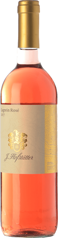 12,95 € Free Shipping | Rosé wine Hofstätter Rosé D.O.C. Alto Adige Trentino-Alto Adige Italy Lagrein Bottle 75 cl