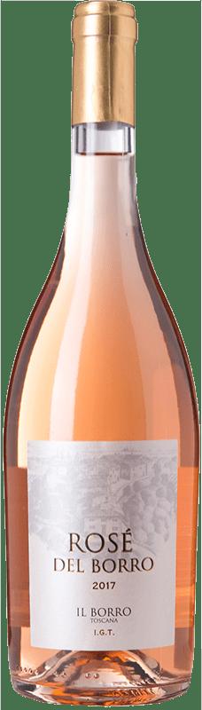 10,95 € Free Shipping | Rosé wine Il Borro Rosé I.G.T. Toscana Tuscany Italy Sangiovese Bottle 75 cl