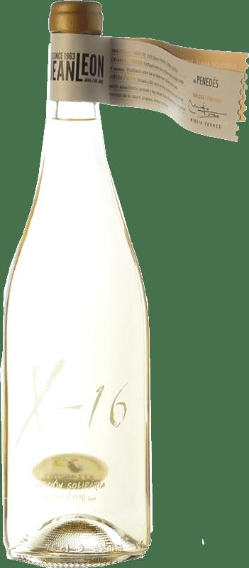 18,95 € Free Shipping   White wine Jean Leon X-16 Crianza D.O. Penedès Catalonia Spain Xarel·lo Bottle 75 cl