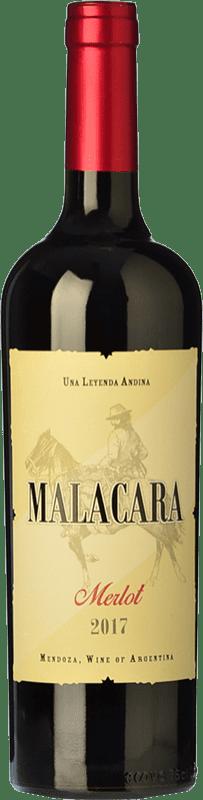 10,95 € Free Shipping   Red wine Kauzo Malacara Joven I.G. Mendoza Mendoza Argentina Merlot Bottle 75 cl