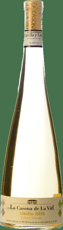 19,95 € Free Shipping | White wine Lagar de Isilla La Casona de la Vid Viñas Viejas Crianza I.G.P. Vino de la Tierra de Castilla y León Castilla y León Spain Albillo Bottle 75 cl