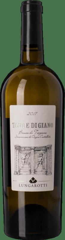 10,95 € Free Shipping | White wine Lungarotti Torgiano Bianco Torre di Giano I.G.T. Umbria Umbria Italy Trebbiano, Vermentino, Grechetto Bottle 75 cl