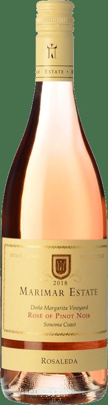 28,95 € Free Shipping   Rosé wine Marimar Estate Rosaleda Rosé I.G. Sonoma Coast Sonoma Coast United States Pinot Black Bottle 75 cl