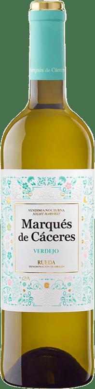 7,95 € Free Shipping | White wine Marqués de Cáceres D.O. Rueda Castilla y León Spain Verdejo Bottle 75 cl