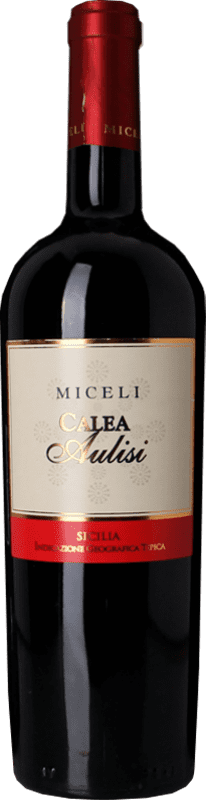 18,95 € Free Shipping | Red wine Miceli Calea Aulisi I.G.T. Terre Siciliane Sicily Italy Nero d'Avola Bottle 75 cl