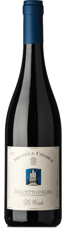 9,95 € Free Shipping | Red wine Michele Chiarlo Le Coste D.O.C.G. Dolcetto d'Alba Piemonte Italy Dolcetto Bottle 75 cl