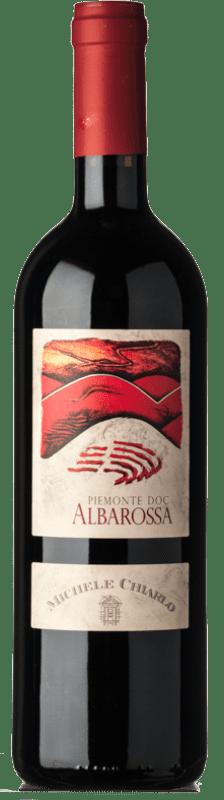 13,95 € Free Shipping | Red wine Michele Chiarlo D.O.C. Piedmont Piemonte Italy Albarossa Bottle 75 cl