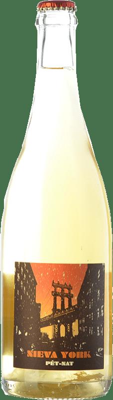 22,95 € Free Shipping | White sparkling Microbio Nieva York Dry Spain Verdejo Bottle 75 cl
