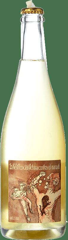 24,95 € Free Shipping | White sparkling Microbio La Resistencia Activa Brut Nature Castilla y León Spain Verdejo Bottle 75 cl
