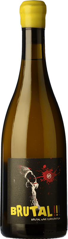 26,95 € Free Shipping | White wine Microbio Brutal Brut Crianza Spain Verdejo Bottle 75 cl