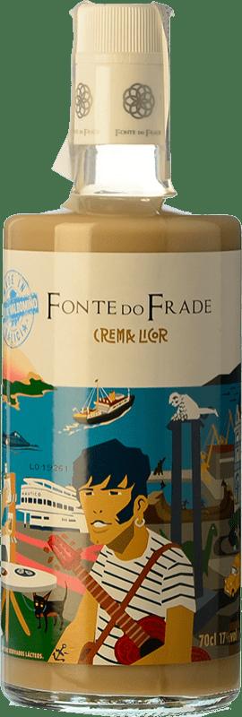 13,95 € Free Shipping | Liqueur Cream Pazo Valdomiño Fonte do Frade Crema de Orujo Galicia Spain Bottle 70 cl