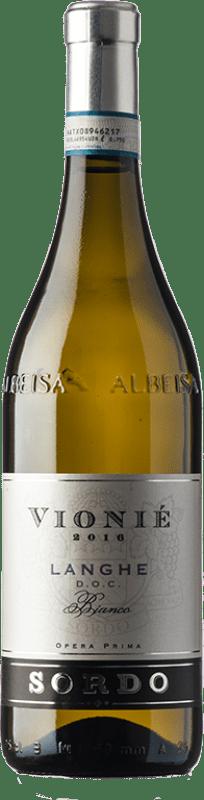 15,95 € Free Shipping   White wine Sordo Bianco Vionié D.O.C. Langhe Piemonte Italy Viognier Bottle 75 cl