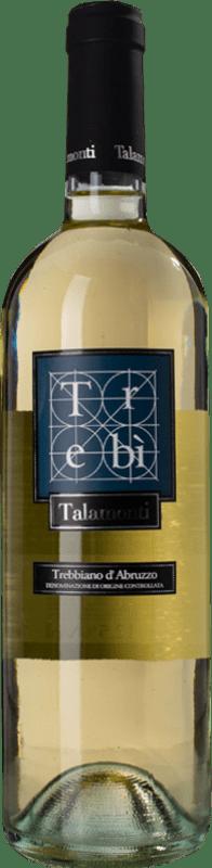 10,95 € Free Shipping   White wine Talamonti Trebì D.O.C. Trebbiano d'Abruzzo Abruzzo Italy Trebbiano d'Abruzzo Bottle 75 cl