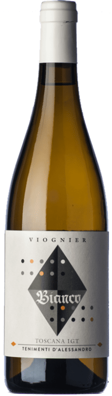 15,95 € Free Shipping | White wine Tenimenti d'Alessandro Bianco I.G.T. Toscana Tuscany Italy Viognier Bottle 75 cl