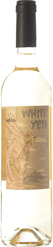 5,95 € Free Shipping | White wine Wine Love Gran Cerdo White Yeti Spain Viura, Muscat, Sauvignon White, Gewürztraminer, Riesling, Petit Manseng Bottle 75 cl