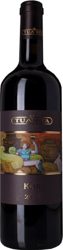 99,95 € Free Shipping | Red wine Tua Rita Keir I.G.T. Toscana Tuscany Italy Syrah Bottle 75 cl
