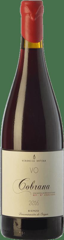 41,95 € Free Shipping   Red wine Verónica Ortega Cobrana Crianza D.O. Bierzo Castilla y León Spain Mencía, Grenache Tintorera, Godello, Palomino Fino, Doña Blanca Bottle 75 cl