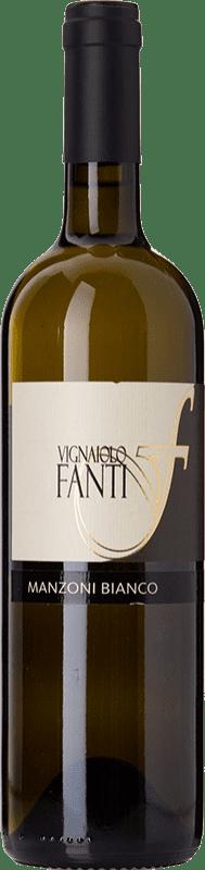 19,95 € Free Shipping | White wine Vignaiolo Tenuta Fanti I.G.T. Vigneti delle Dolomiti Trentino-Alto Adige Italy Manzoni Bianco Bottle 75 cl