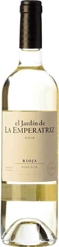 10,95 € Free Shipping | White wine Hernáiz El Jardín de la Emperatriz Blanco D.O.Ca. Rioja The Rioja Spain Viura Bottle 75 cl