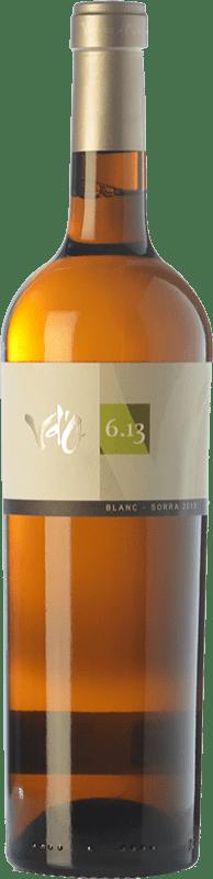 32,95 € Free Shipping | White wine Olivardots Vd'O 6.17 Crianza D.O. Empordà Catalonia Spain Carignan White Bottle 75 cl