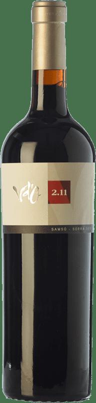 31,95 € Free Shipping | Red wine Olivardots Vd'O 2.11 Crianza D.O. Empordà Catalonia Spain Carignan Bottle 75 cl