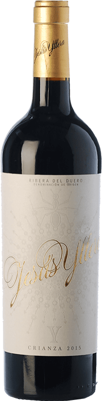 27,95 € Free Shipping | Red wine Yllera Jesús Crianza D.O. Ribera del Duero Castilla y León Spain Tempranillo, Merlot, Cabernet Sauvignon Bottle 75 cl