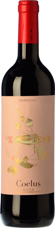 8,95 € Free Shipping | Red wine Yllera Coelus Crianza D.O.Ca. Rioja The Rioja Spain Tempranillo Bottle 75 cl