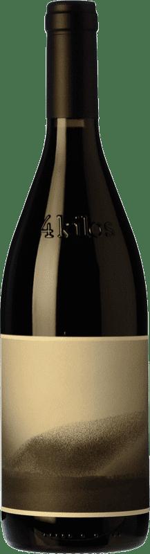 38,95 € 免费送货 | 红酒 4 Kilos Crianza I.G.P. Vi de la Terra de Mallorca 巴利阿里群岛 西班牙 Callet 瓶子 75 cl