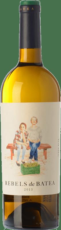 9,95 € Envío gratis | Vino blanco 7 Magnífics Rebels de Batea Blanc Crianza D.O. Terra Alta Cataluña España Garnacha Blanca Botella 75 cl